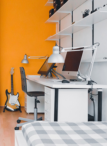 Modernes Home Office