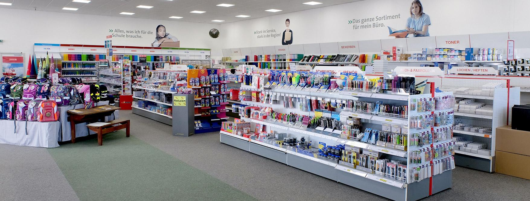 Schulmarkt mit Schreibwaren und Schulbedarf in Neubrandenburg